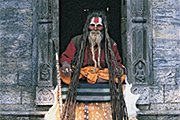 Nepal, Pashupatinath Holy Man